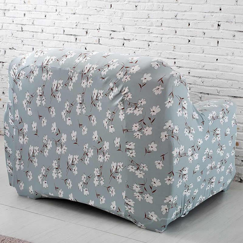 ユニバーサルソファカバーストレッチアームチェア本のカバー弾性アームレストソファーカバー用リビングルームシングル座椅子家具sc007
