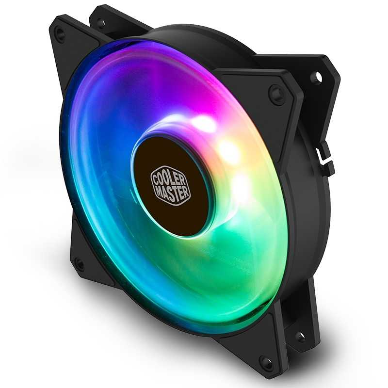 Cooler Master MF120 ARGB 12cm RGB Computer Case PC Cooling Slient Fan For  CPU Cooler Radiator Water Cooling 120mm PWM Quiet Fan