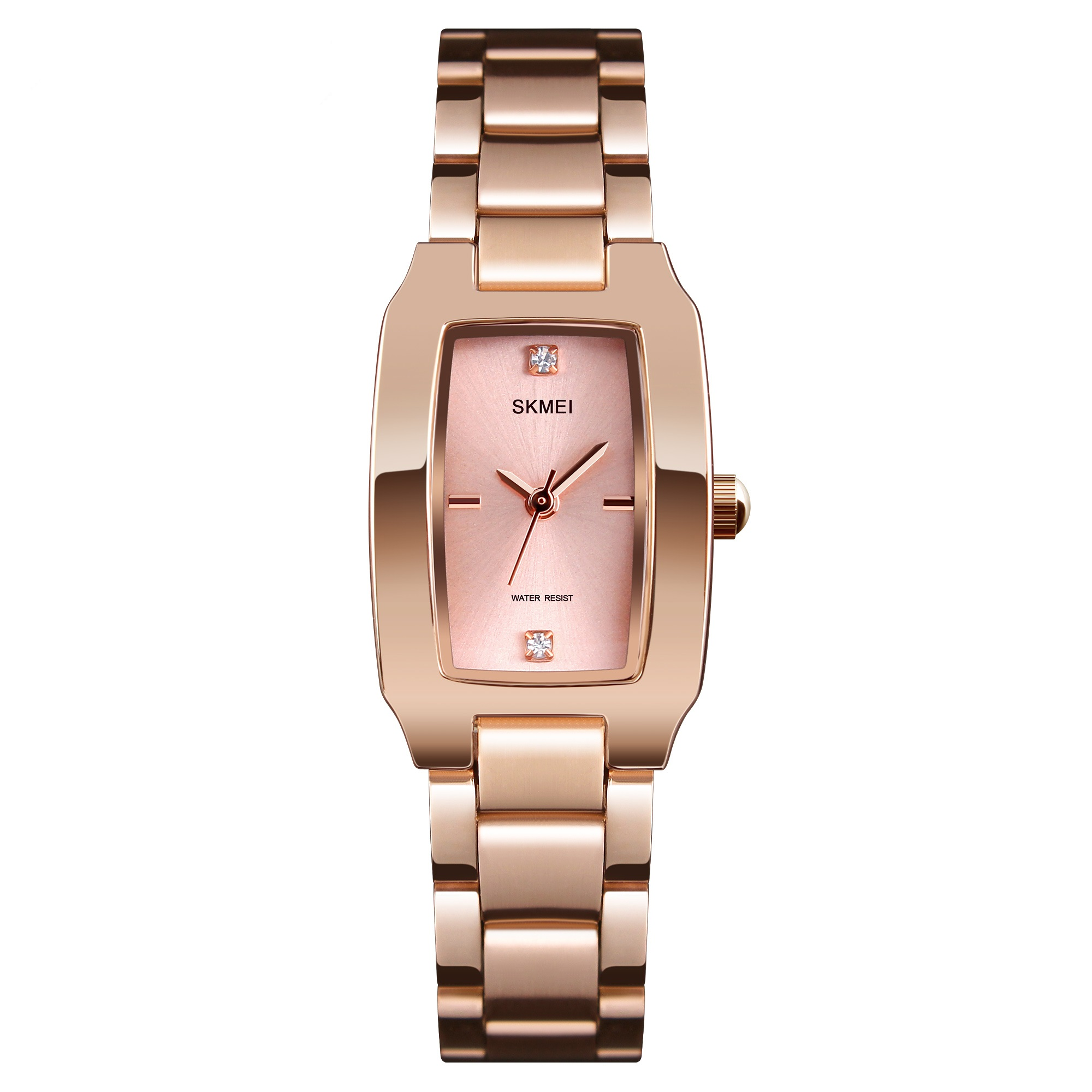 Ladies Watch Luxury Top Brand New Fashion Trending Alloy Stainless Steel Quartz Wristwatch Waterproof Shock Resistant