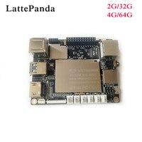 LattePanda 4G/64 GB bord, Intel X86 X64 Z8350 Quad Core 1,8 GHz Volle Windows 10/Linux ArduinoATmega32u4 an bord, Tiefen Lernens
