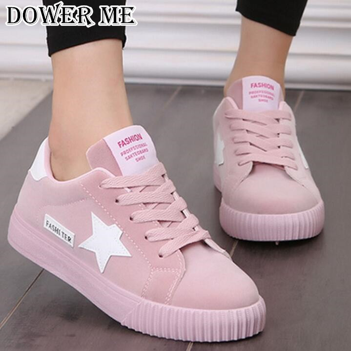 Fashion Flats Women Trainers Breathable Sport Woman Shoes Casual Comfortable Damping Eva Soles Platform Pink Shoes Zapatill HOT! 7ipupas hot selling fashion women shoes women casual shoes comfortable damping eva soles flat platform shoe for all season flats