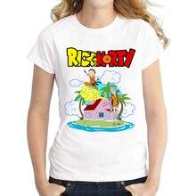 2016 Summer Rick And Morty Holiday's T shirt Women Lovely Cartoon Dragon Ball Z Shirt Comfortable Breathable T-Shirts