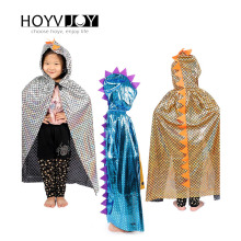 Halloween children dinosaur cloak hat 80cm set role playing holiday party birthday decoration HOYVJOY