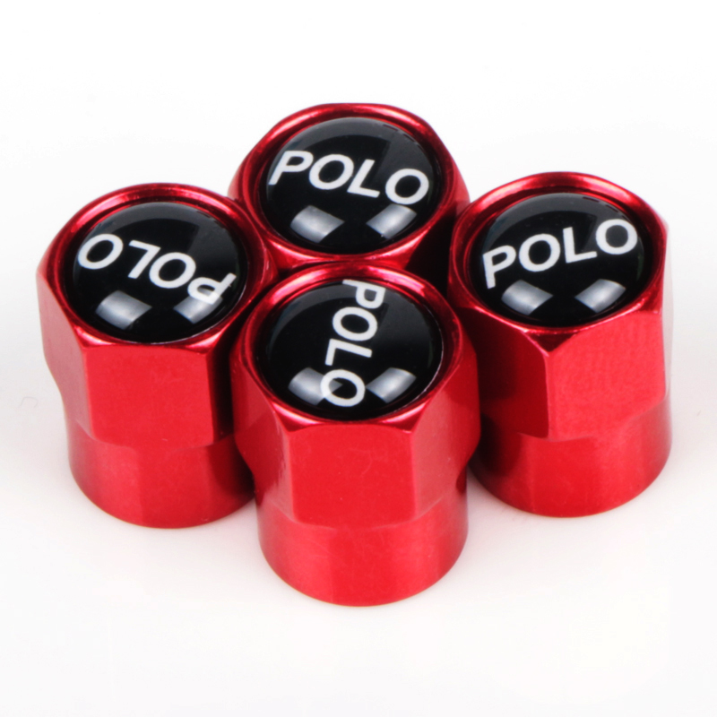 4pcs Car Wheel Tire Valve <font><b>Cap</b></font> Tyre Dust <font><b>Cap</b></font> For Volkswagen <font><b>VW</b></font> Beetie Eos CC Polo GTD UP Car Accessories image