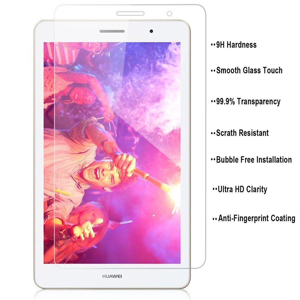 Screen-Protectors Media-Pad Tablet Tempered-Glass Huawei 2pack For T3 8inch Ultra-Thin