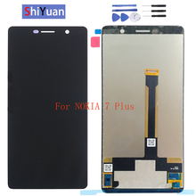 Original 6.0 LCD Display For Nokia 7 Plus 7Plus TA-1062 TA-1046 1055 LCD Display Touch Screen Glass Panel Digitizer Replacment