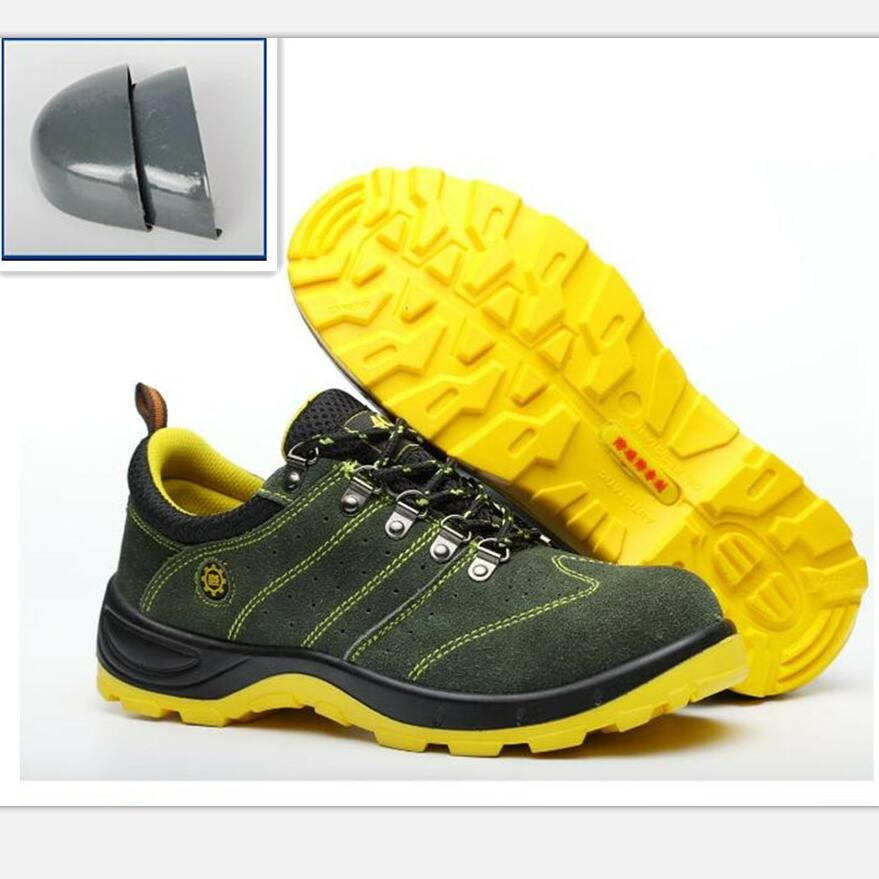 Fine Zero Men Anti-elactric Air Mesh Steel Toe Cap Work Safety Shoes Breathable Working Boots Puncture Proof Protective Footwear