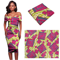 Ankara African Wax Print Fabric African Wax Women Dress Material 6yards African Wax Fabric Cotton Fashion