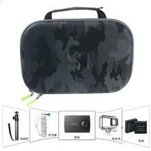 Originele Yi Camera Opbergtas Waterdichte Camouflage Eva Bag Case Voor Xiaomi Yi 4K/Gopro Hero 5 4/Sjcam SJ6 SJ7 Accessoires