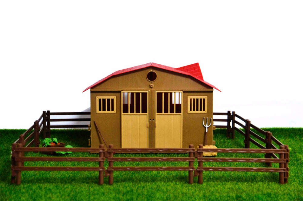 Original Genuine Farm House Transfer Stable Match Animal Cattle Horse Pets Dogs Cat Poultry Cows Pig Duck Sheepchicken Hen Goose