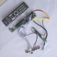 kit for LM240WU8 SLE4 Controller board 1920X1200 DIY CVBS 24 LED LVDS 30pin USB TV AV LCD VGA HDMI Screen Panel