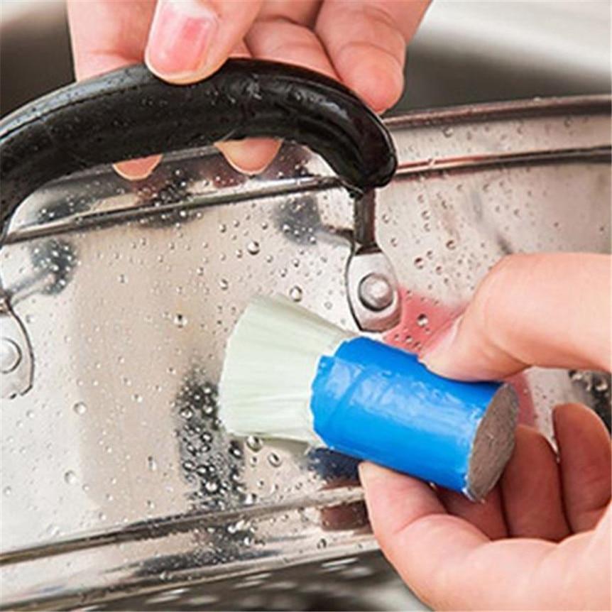 Happy продажа нержавеющей стальной стержень Magic Stick ржавчины очистки для удаления мыть кисти протрите горшок Прямая доставка sep929
