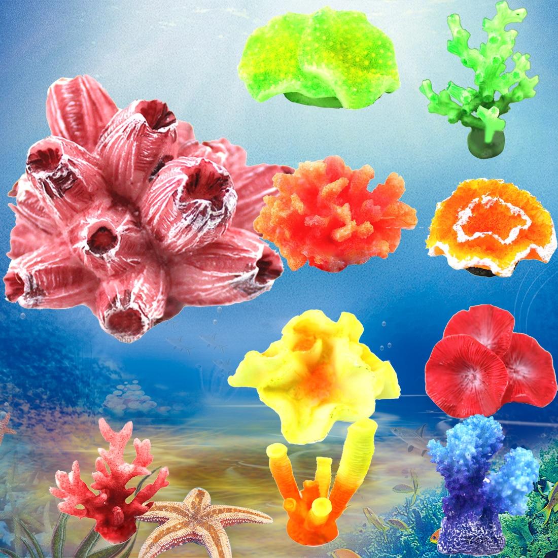Great Cheap 1pcsset Colorful Artificial Plastic Aquarium Decoration