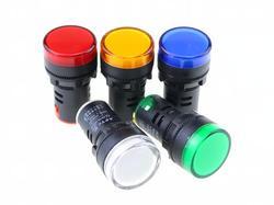 Anzeige AD16-22DS 220 v LED signal lampe Rot/Grün/Huang/Blau/Weiß Anzeige Lichter
