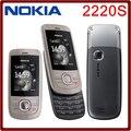 Origianl nokia 2220 slide Mobile Phones Unlocked nokia 2220 s сотовые телефоны GSM mp3-плеер бесплатная доставка