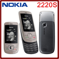 Origianl nokia 2220 slide mobile teléfonos celulares gsm desbloqueado nokia 2220 s reproductor de mp3 envío gratis