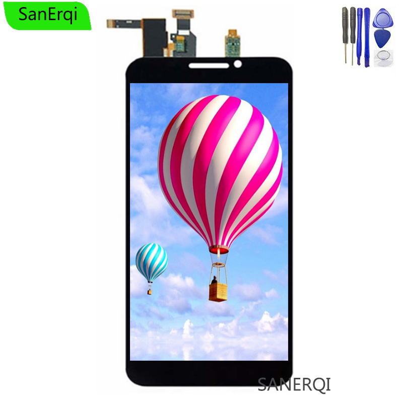 Original For ZTE Grand S2 S 2 II S251 S291 S252 S221 LCD DIsplay Touch Screen Digitizer Assembly with frame