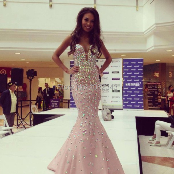Aliexpress.com : Buy Free Shipping Elegant Vestidos De Fiesta Prom ...