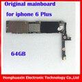 64 ГБ Factory unlock материнская плата для iphone 6 plus без Touch ID 100% оригинал материнская плата без fingprint IOS Логическая плата