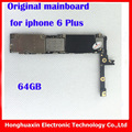64gb Factory unlock motherboard for iphone 6 plus without Touch ID 100% original mainboard without fingprint IOS Logic board