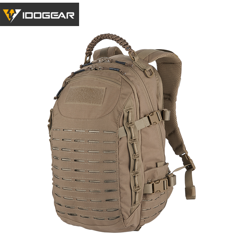 IDOGEAR Hiking Backpack Military Dragon Egg Molle Training Bags Airsoft Equipments Rucksack Tactical Backpack Coyote Brown