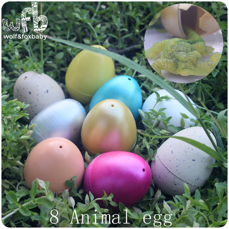 Toys Dinosaur-Eggs Aquatic Children 8-Patterns Egg-Growth-Gift Easter Water-Expansion