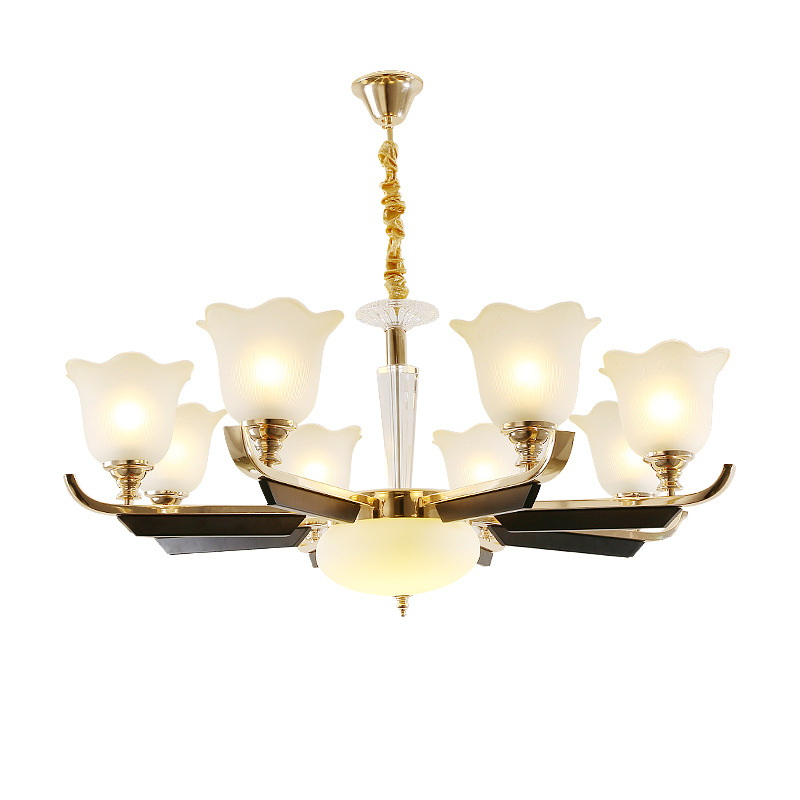 LED crystal chandelier home deco lighting fixtures living room hanging lights Modern suspension luminaire bedroom suspended lamp in Chandeliers from Lights Lighting