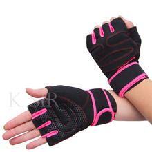 Gym Body Building Wrist Support Gloves Training Sports Crossfit Gloves For Men Women Exercise Training Fitness Gym Gloves