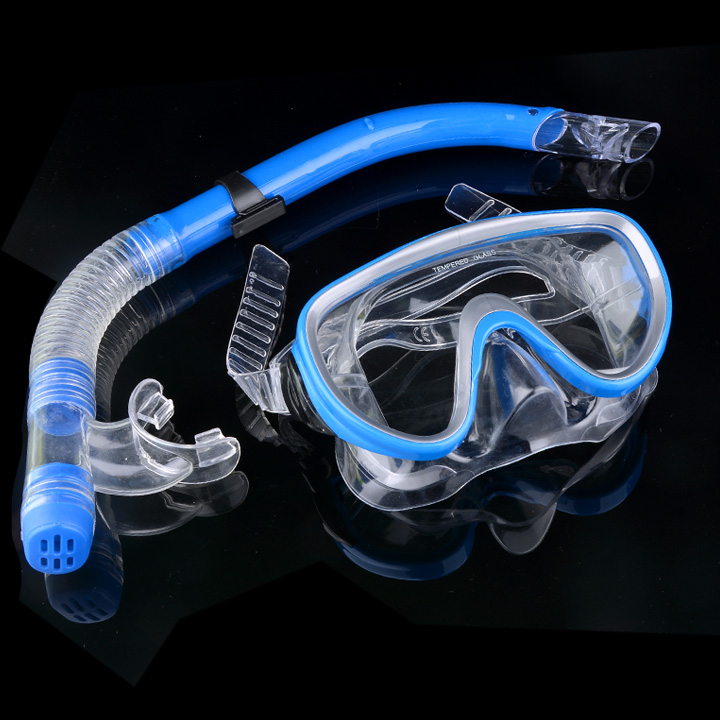 Hot Sale Tube Snorkel Mask Anti Fog Swiming Goggles Glasses Scuba - Sukan air