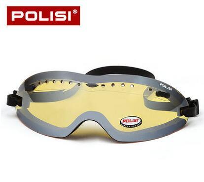 736b42aaaa52d POLISI óculos de Esqui da Neve do Inverno Das Mulheres Dos Homens Óculos de  Lente Amarela óculos de Skate Snowboard Snowmobile Esqui Óculos de Proteção  UV ...