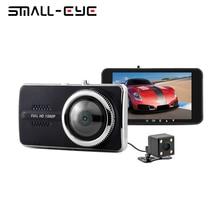 Cheaper SMALL-EYE Car DVR Video Recorder 4 inch 1080P Dash Cam G-sensor Dashboard With Rear View Camera Parking Novatek 96658 Dual Lens