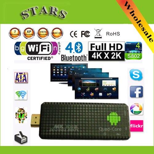Android 4.2.2 mini pc quad core rk3188 google tv box mk809iii 2...