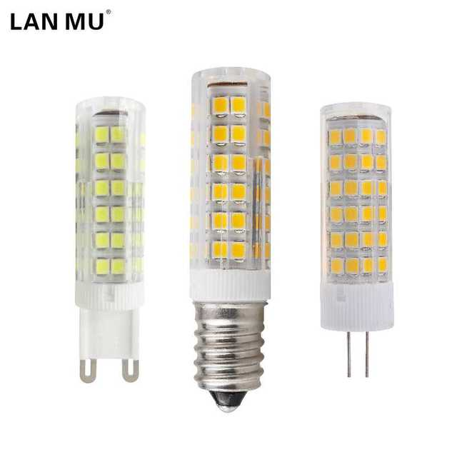 Aliexpress.com : Buy LAN MU Mini E14 G4 G9 LED Bulb 220V SMD 3W 5W ...
