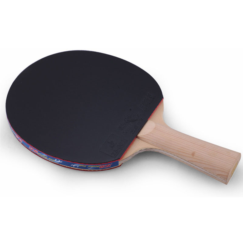Original Double Fish 9A 9stars Cypress Carbon Fiber Table Tennis Bat Pingpong Racket with quick attack Pimple in Leather Bag