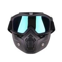 新加入防塵ヘルメットレトロヴィンテージため口フィルターマスクハーフフェイスバイク用ヘルメット