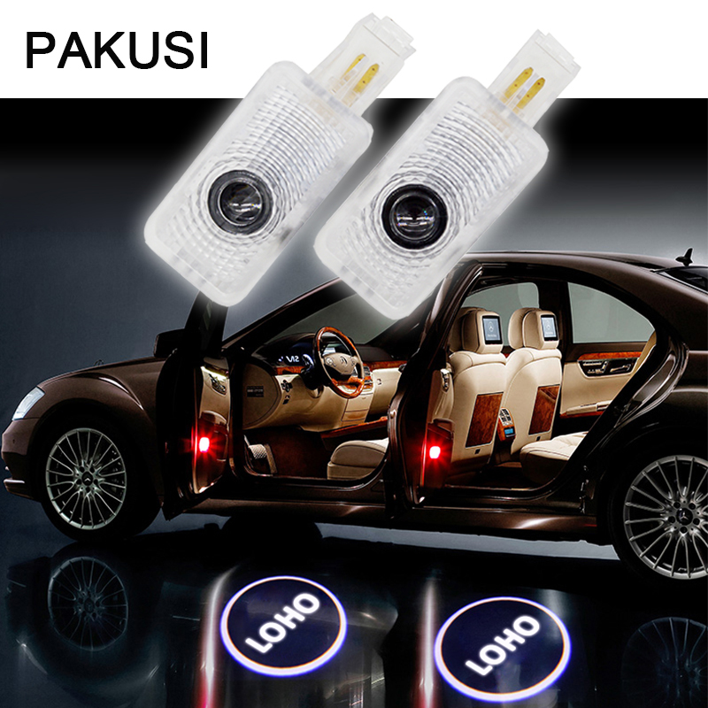 PAKUSI Car Door Welcome Lights For Honda Acura MDX RLX TL