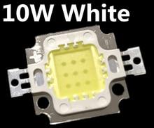 Gratis Verzending 100 Stuks 10W Led 10W Wit 800 900LM Led Lamp Ic Smd Lamp Licht Daglicht Witte High power Led 6000 6500K