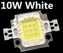 Il trasporto libero 100PCS 10W LED 10W bianco 800 900LM Lampadina del LED IC SMD Lampada Della Luce Diurna bianca di Alto potere HA CONDOTTO 6000 6500K