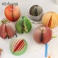 1 шт. Kawaii фрукты блокнот заметка милый липкий бумага Скрапбукинг наклейка креативная Корейская Канцелярия - фото
