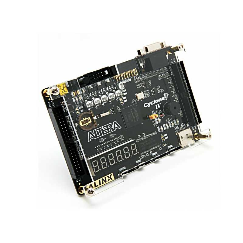 AX301, FPGA Board +Platform Cable USB+Camera Module+LCD Module ALINX Brand Intel ALTERA FPGA Development Board Cyclone IV EP4CE6 Study Board Entry-Level