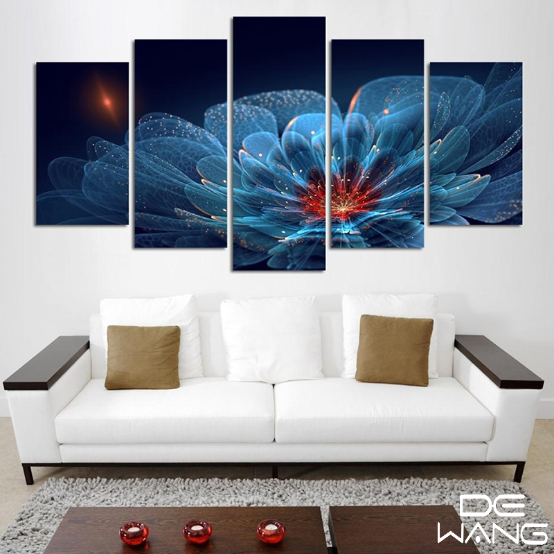 Wall Art Sets For Living Room 5 piece canvas art set promotion-shop for promotional 5 piece