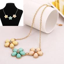 18pcs/lot Woman's Jewlery Alloy Necklace Necklet With Flower Stage Party Neck Chain Sweater Chain jn148