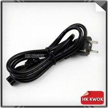 5pcs EU EUROPEAN 3 Prong 2 Pin AC Laptop Power Cord For Asus HP Sony