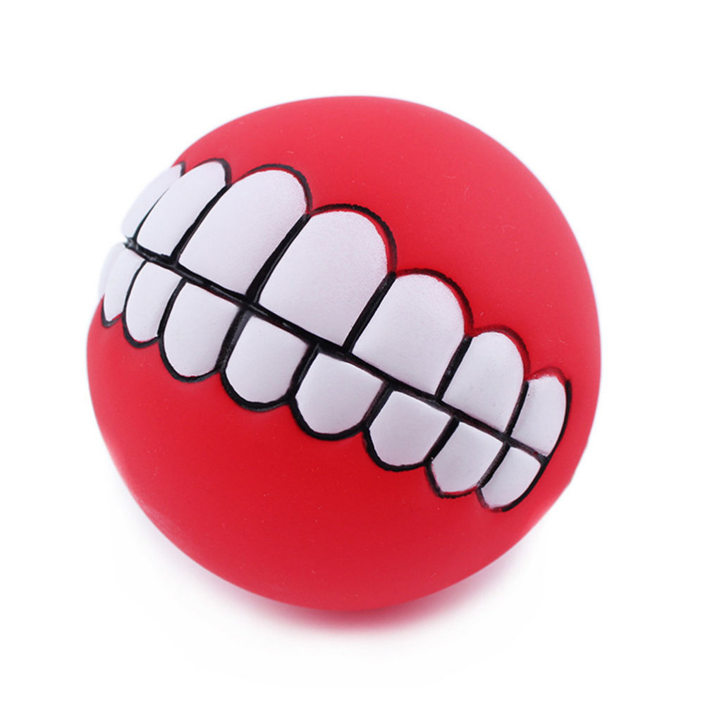 Outlets Super Thick Vinyl Sound Bite-resistant Pet Dog Speelgoed Teeth Ball Funny Toys Stress Air Ball Outdoor Fun Sports Random