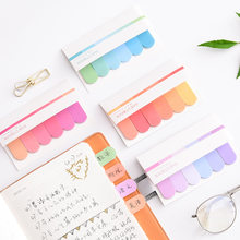 120 Pages Cute Kawaii Memo Pad Sticky Notes Stationery Sticker index Posted It Planner Stickers Notepads Office Stationery(China)