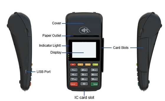 Electronic Consumer With Comprehensive SDK And Outstanding Printer ,NFC Handheld Android Mobile EFT Payment Terminal
