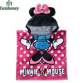Robe bebê Nadar Vestes Minnie Mouse Toalha Dos Desenhos Animados da Criança Das Meninas Dos Meninos Com Capuz Bonito Roupão Praia Piscina Poncho Estilo