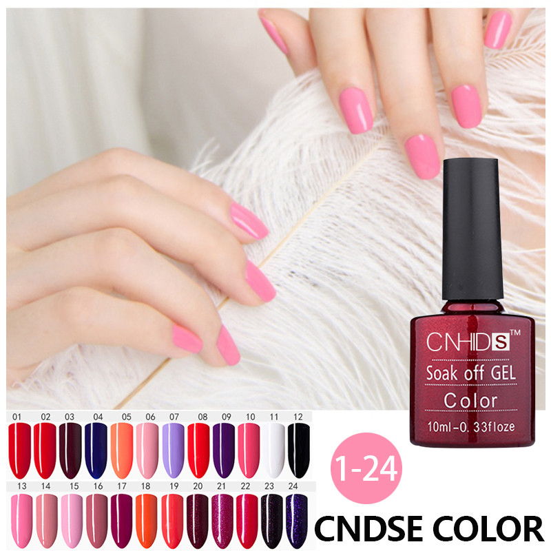 10ML Gel Varnishes NewArrival Pretty 156 Colors UV Gel Nail Varnish Paint Soak Off LED UV Gel Color Nail Art