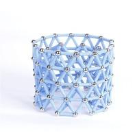 Magnetic Building Blocks Construction Toys Magnet Toy Bars Metal Balls For Kids DIY Designer Educational Children