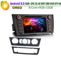 Android 8 0 DAB GPS DVD CD SD RDS BT USB WiFi 3G DTV IN OBD